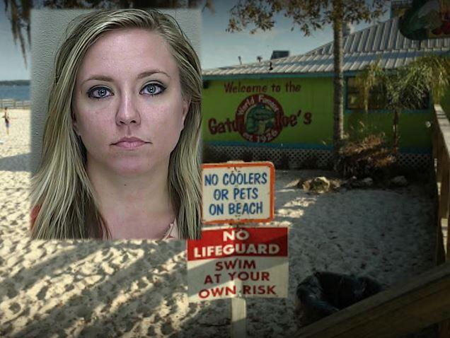 Woman arrested at Gator Joe's