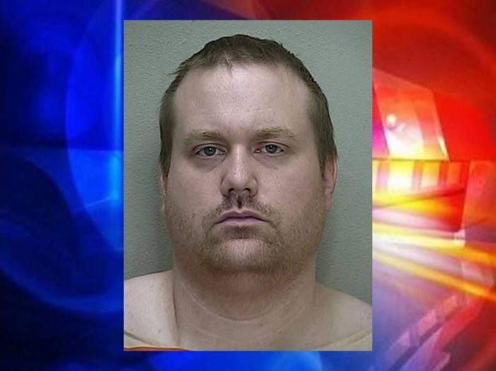 Marion County Sheriff's Office patrol volunteer arrested