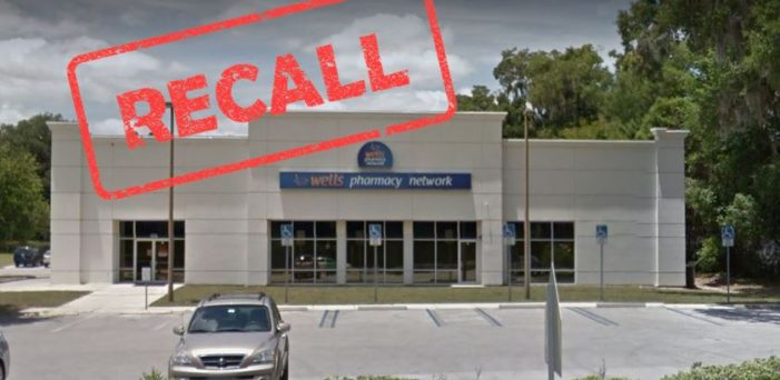 Massive recall on Wells Pharmacy human and veterinarian products