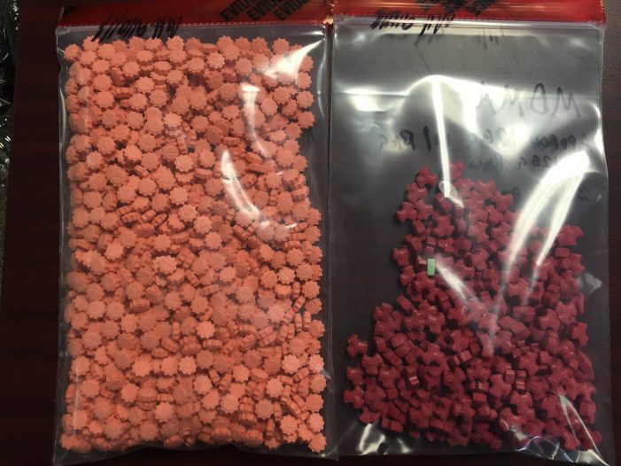 $25,000 in Ecstasy seized