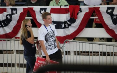 Thousands attend Donald Trump rally, strong energy filled the pavillion