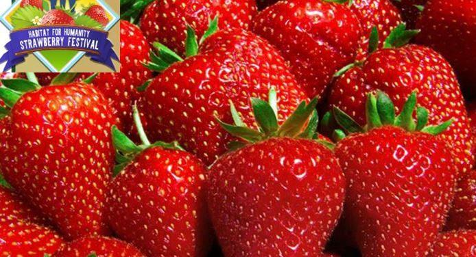 Habitat for Humanity to host 4th Annual Habitat Strawberry Festival