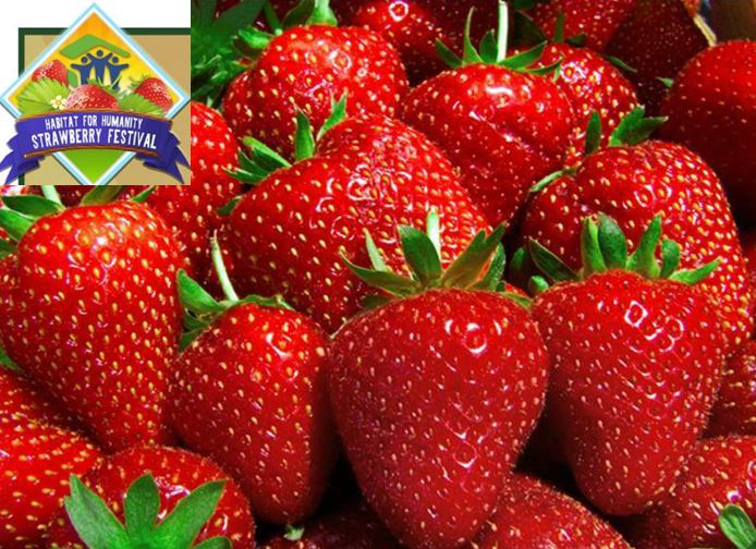 Habitat for Humanity to host 4th Annual Habitat Strawberry Festival