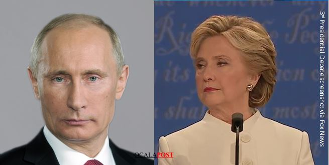 Russia says Hillary Clinton craves power and could mean war, new trouble for the presidential candidate