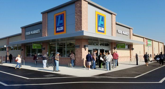 ALDI store grand reopening in Ocala