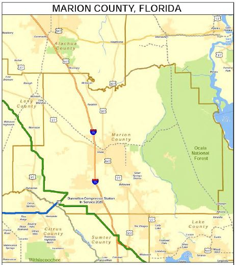 marion county pipeline, pipeline, sabal trail