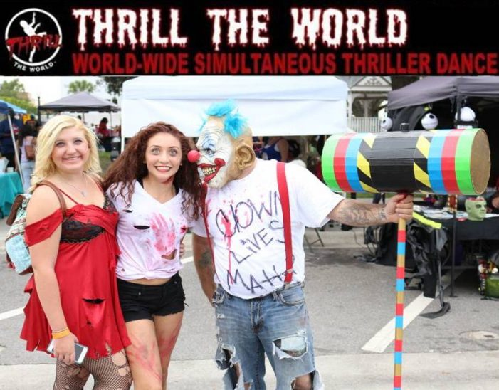 Media gallery: Thrill the World event, 2016
