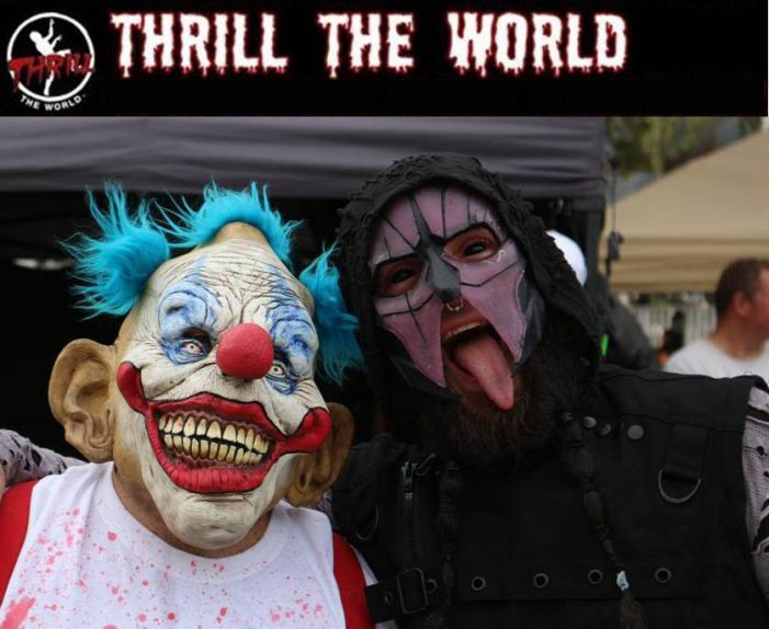 Thrill the World 2017, vendors wanted