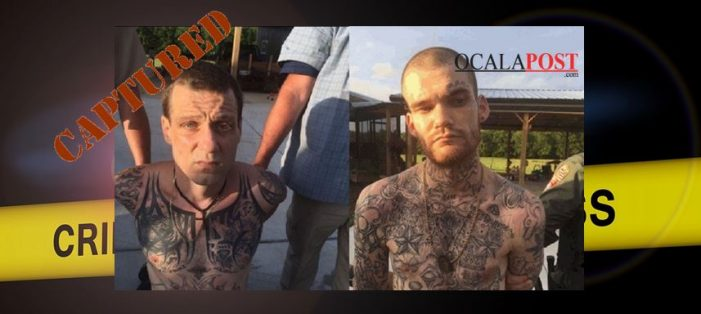CAPTURED: Suspects who killed corrections officers