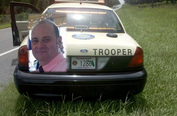 FHP trooper struck by car while patrolling I-75, died