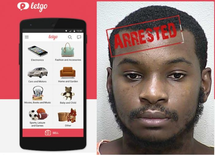 Thief used Letgo App to sell stolen phones