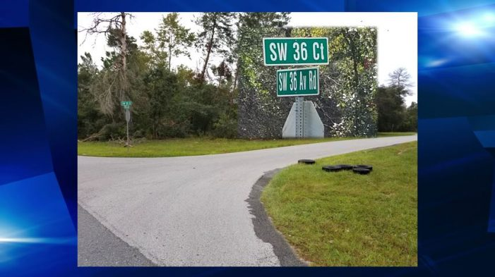 Officials looking for litterbug, dumped tires