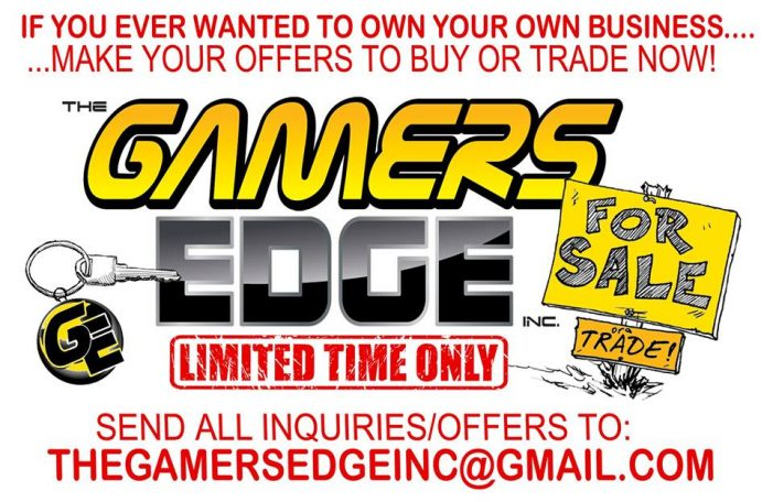 Gamers Edge up for sale or trade