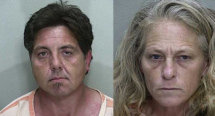Two arrested after dispute over yard work