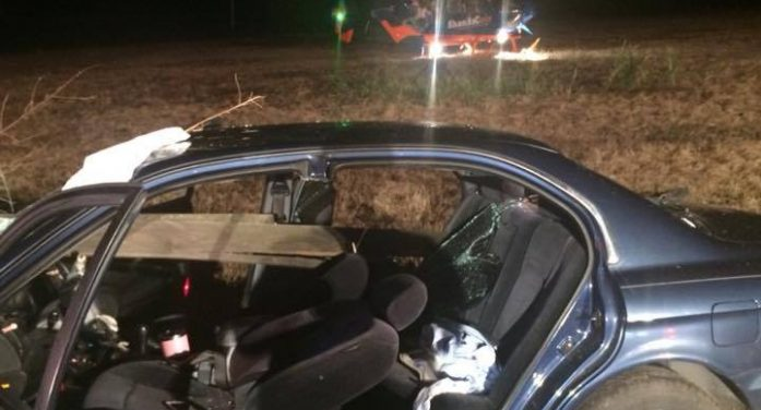 14-year-old girl was driving alone, critically injured
