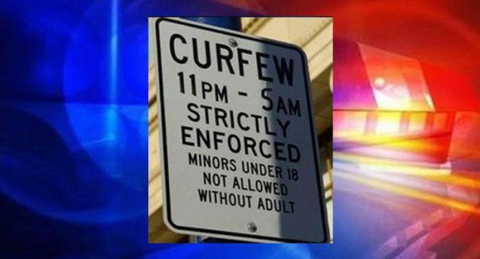 Curfew warning: school will be out soon; keep minors off the street after dark