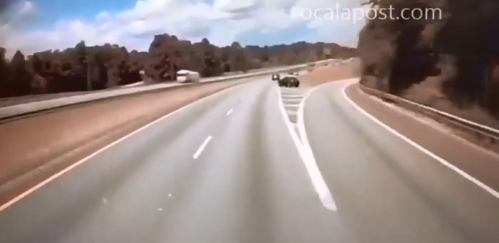 Semi nearly hits 76-year-old driver