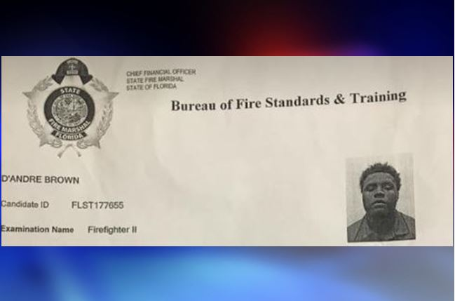 Ocala firefighter arrested