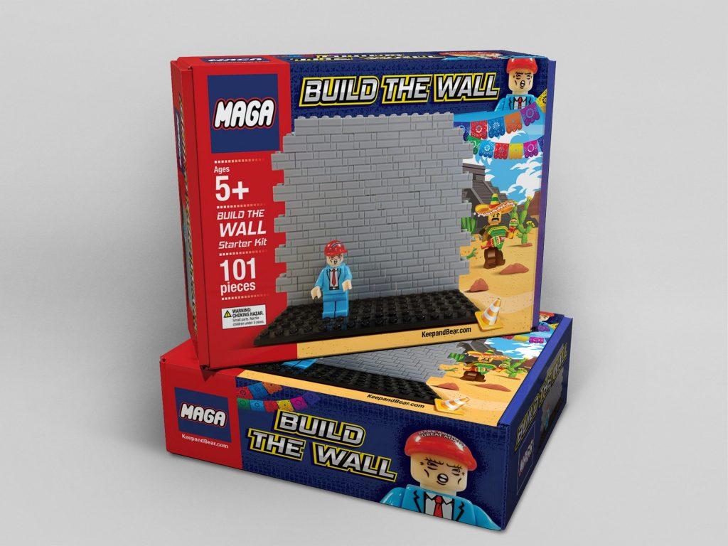 maga, lego blocks, trump build a wall blocks, ocala news, ocala post, politics