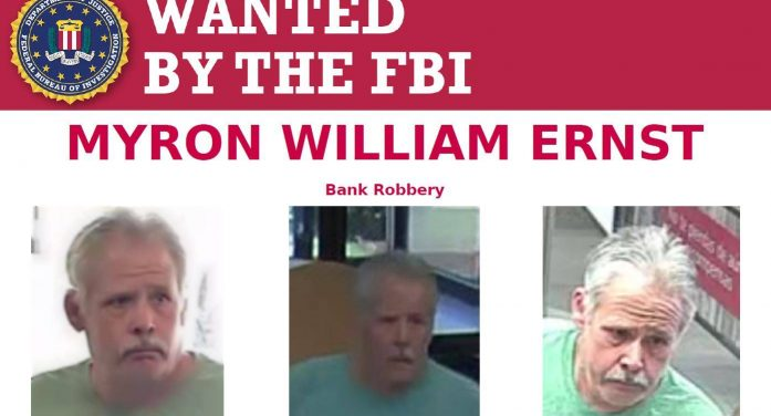 Violent bank robber wanted by police, FBI
