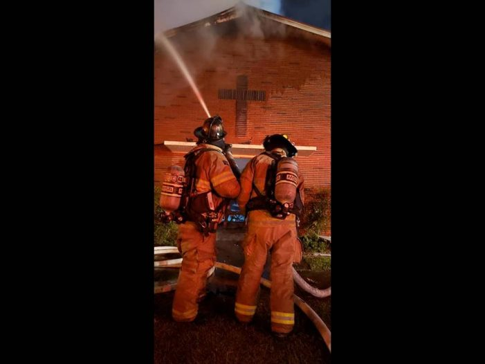 Fire destroys Dunnellon church