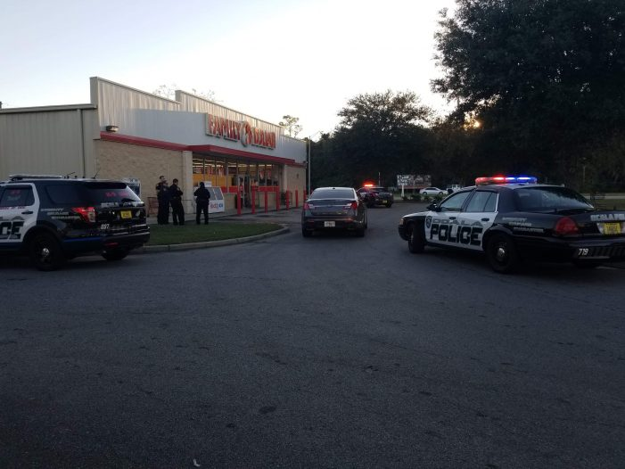 Man allegedly waved gun inside a Family Dollar