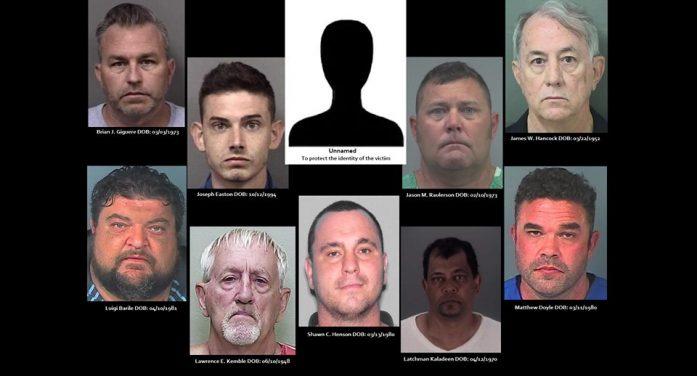 Owner of restaurant is one of nine men arrested in human trafficking case