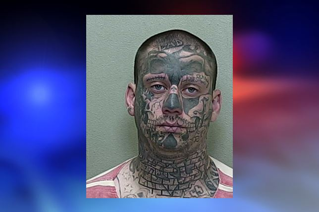 Charges dropped for man dubbed as tattoo face