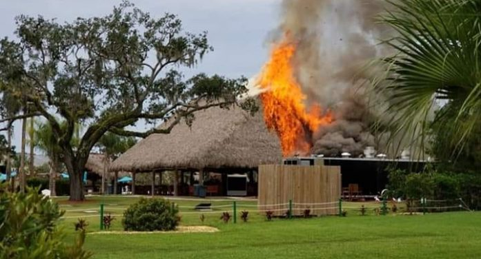 Crumps Landing hit by second fire since 2004
