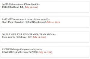 Death Threats Against George Zimmerman