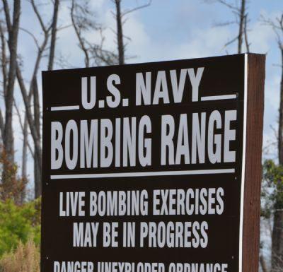 Navy Bombing Range Ocala National Forest Florida Ocala Post