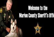 Sheriff Chris Blair marion county,ocala