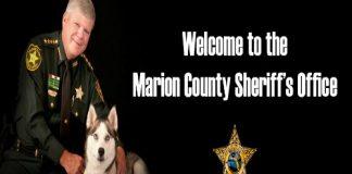 Sheriff Chris Blair marion county,ocala