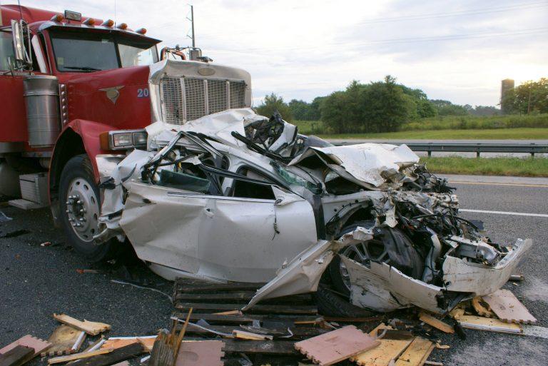 Sunday Mornings Metal Mangled Crash Spared Injuries