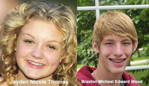 Michigan teens found ,Jayden Nicole Thomas,Braxton Micheal Edward Wood,ocala