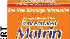 Motrin Infants' Drops Recall 2013 ocala