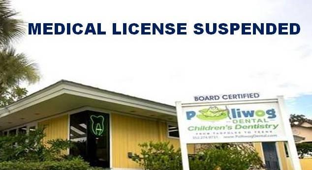 Medical license suspended for Polliwog Dental owner, Michael Tarver