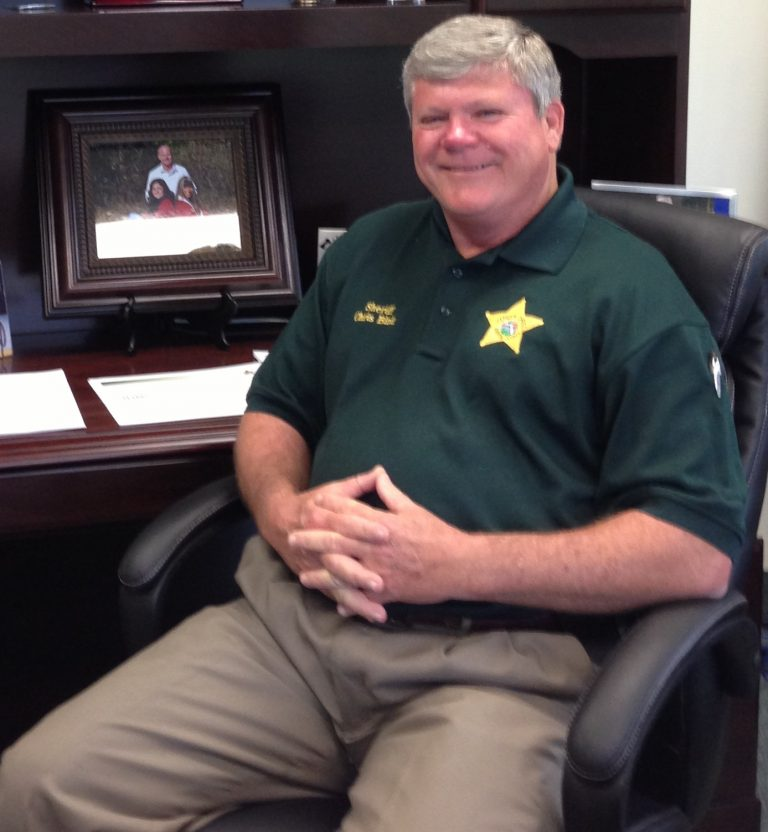 Sheriff Chris Blair Boosts Office Morale Before The Holidays