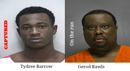 tydree barrow, gerod rawls, wanted, ocala, ocala post, ocala news
