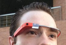 google glass, nametag, ocala post, banner,