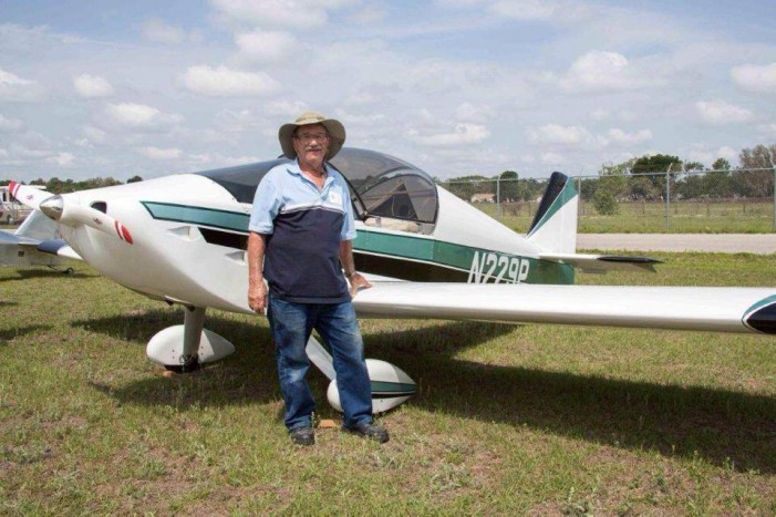 Pilot Theodore Weiss and his plane, still missing
