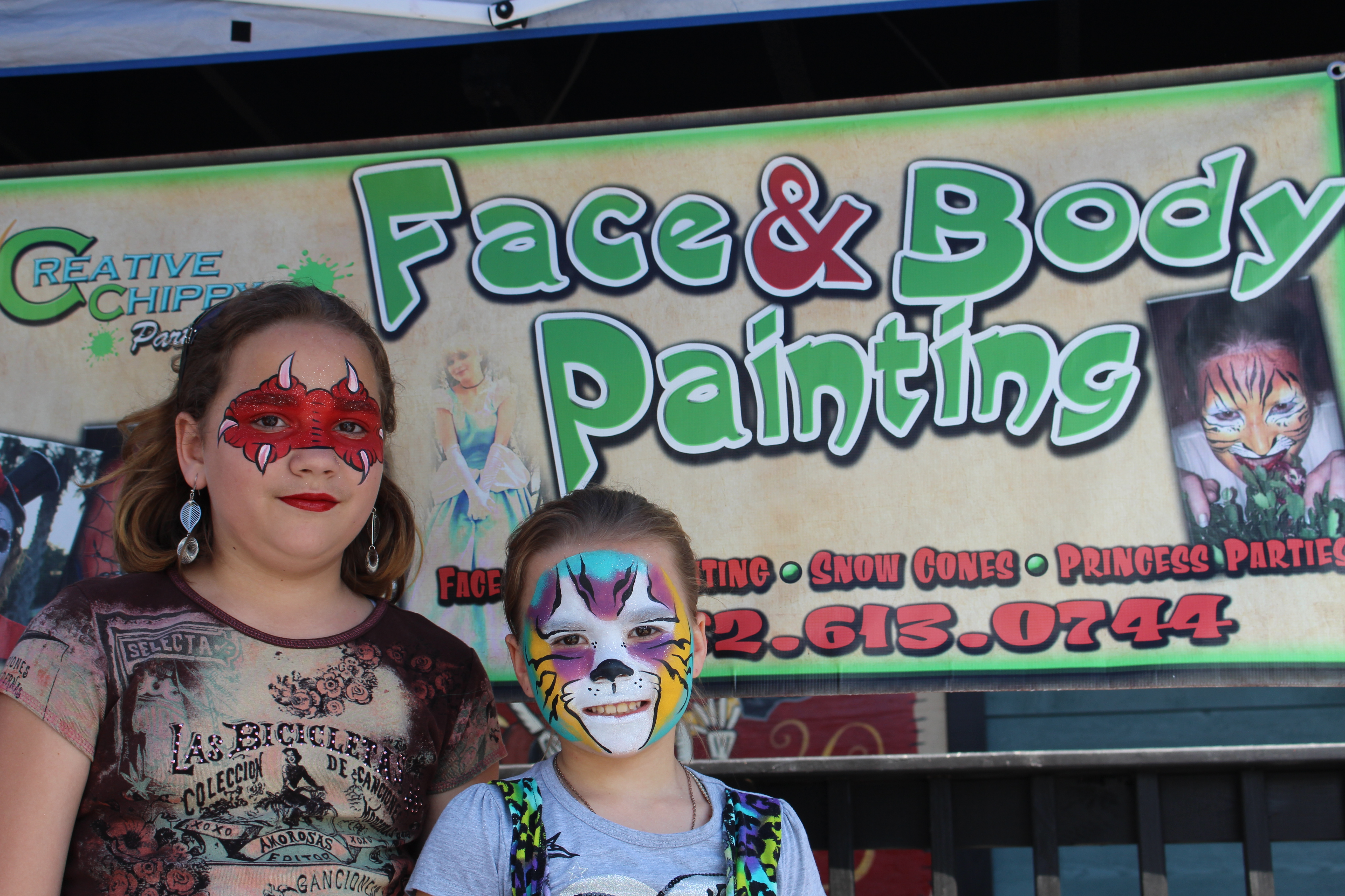 face painting, ocala