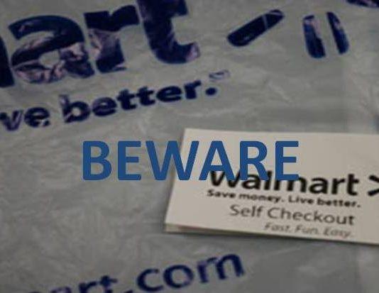 Walmart self checkout scam