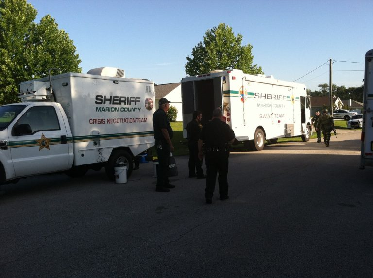SWAT surrounds home in Dove Hill Subdivision