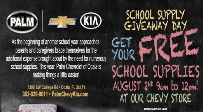 Free School Supplies, Ocala