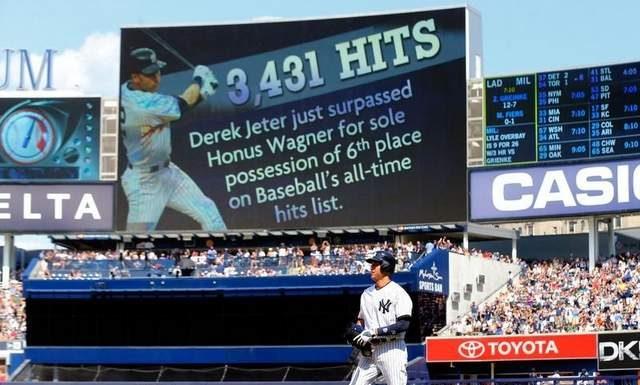 Derek Jeter, New York Yankees, Baseball
