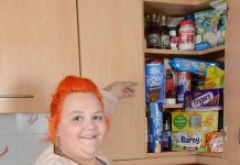 fat woman, obese woman, food stamps, welfare, ocala news, england