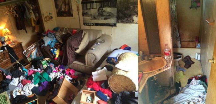 Children were living in meth home surrounded by filth