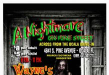Nightmar eon Pine street 2014, Halloween 2014