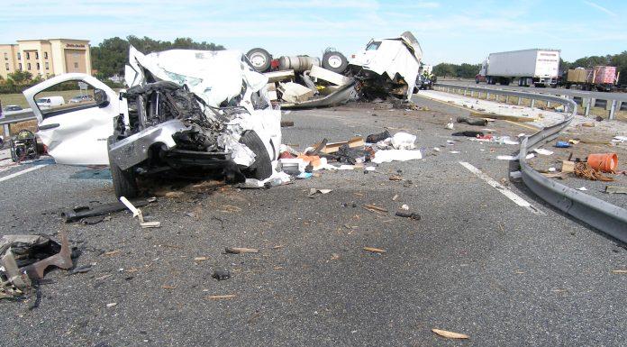 ocala news, marion county news, banner, I-75 crash,
